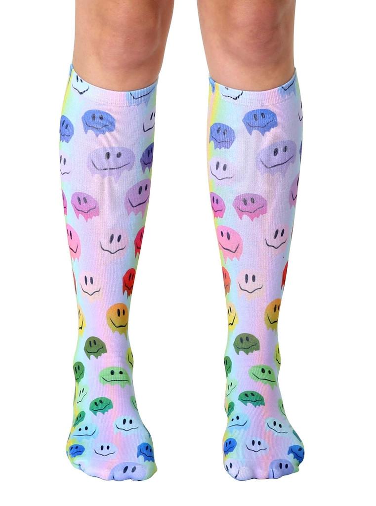6e052b0d7 Living Royal - Melting Smiley Knee High Socks