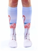 Living Royal Flamingo Knee High Socks