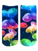 Living Royal Jellyfish Ankle Socks