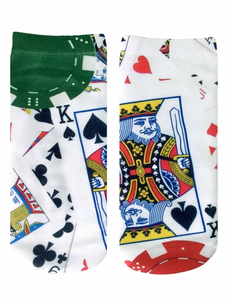 Living Royal Poker Ankle Socks