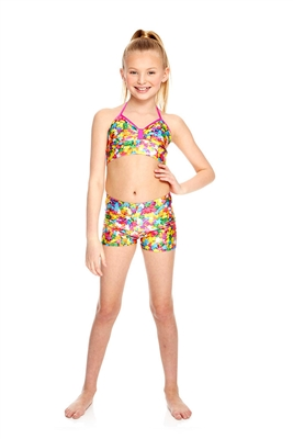 Terez Girls Funfetti Sprinkles Dance Shorts