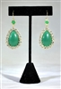 Perfectly Polished Earrings: Green