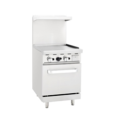 "Range, 24""  All Griddle Sm Oven - AGR-24G by Atosa."