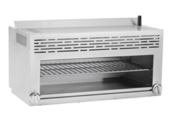 "Cheesemelter, 36"" 2 Infrared Burners - ATCM-36 by Atosa."