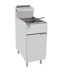 Fryer, Economy Floor Model 40 lb - ATFS-40 by Atosa.