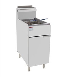 Fryer, Floor Model 50 lb, Gas -ATFS-50 by Atosa.