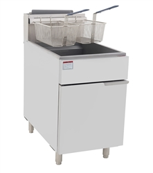 Fryer, Floor Model 75 lb, Gas -ATFS-75 by Atosa.