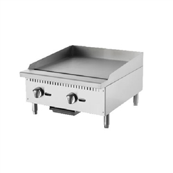 "Griddle, Manual 24"" Countertop - ATMG-24 by Atosa."