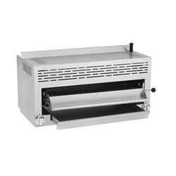 "Salamander Broiler, 36"" 2 Infrared Burners - ATSB-36 by Atosa."