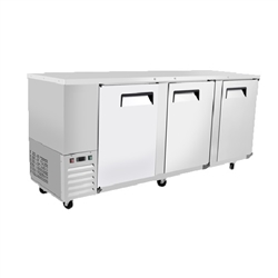 Refrigerator, Back Bar Cooler 3 Door Stainless - MBB90-GR by Atosa