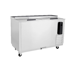 "Refrigerator, Horizontal Bottle Cooler 50"" Stainless - MBC50GR by Atosa"