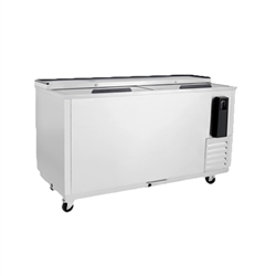 "Refrigerator, Horizontal Bottle Cooler 65"" Stainless - MBC65GR by Atosa"