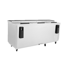 "Refrigerator, Horizontal Bottle Cooler 80"" Stainless - MBC80GR by Atosa"