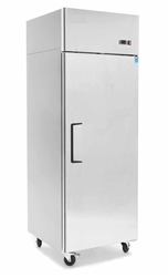 Refrigerator, Reach-In Solid Door Top Mount 1 Section - MBF8004GR by Atosa.