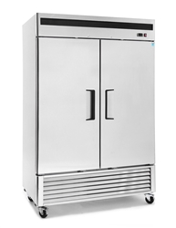 Freezer, Reach-In Solid Door Bottom Mount - 2 Section, MBF8503GR by Atosa.