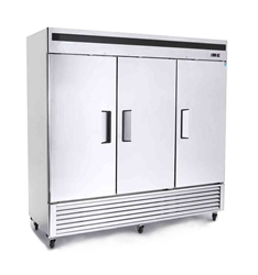 Freezer, Reach-In Solid Door Bottom Mount - 3 Section, MBF8504GR by Atosa.