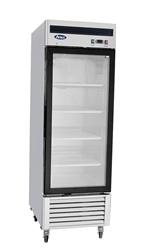 Freezer, Reach-In Glass Door Bottom Mount - 1 Section, MCF8701GR by Atosa .
