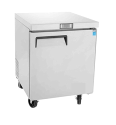 "Freezer, Undercounter 27"" Solid Door 6.5 Cu Ft - MGF8405GR by Atosa."