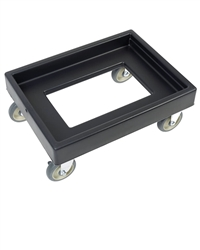 Camtainer-Camcarrier Dolly, Black - CD300110 by Cambro.