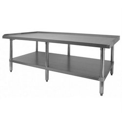 "Equipment Stand, Stainless Steel, 30"" x 60"", CCES-3060 by California Cooking."