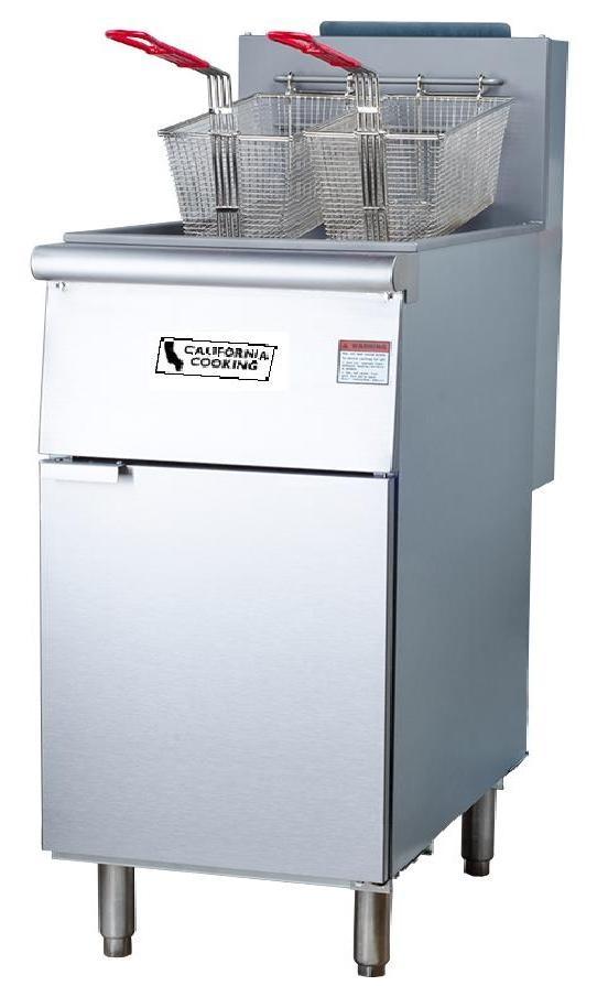 CCK Fryer, Floor Model 70 LB Nat Gas - F5-N