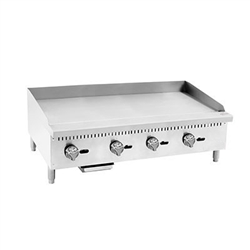 "Griddle, Manual 48"" Countertop - PMG-48 by CCK"
