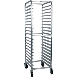 "Bun Pan Rack, All Welded, 3"" Spacings, 20 Pan - Aluminum, PR1820-AW by California Cooking."