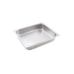 "Steam Table Pan, Half Size Perforated 4"" Deep - VX124P by California Cooking."
