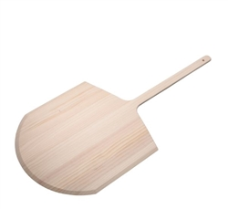 "Pizza Peel, Wood, 14"" x 15"" Blade, 24"" Overall Length, WPPP-2414 by CCK."