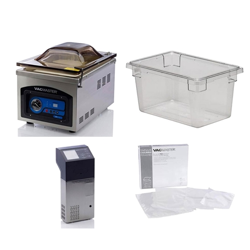 Souse-Vide, Complete Commercial Kit, SVCK by ChefsFirst