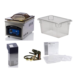 Souse-Vide, Complete Commercial Kit With Smoking Gun, SVCK-SG by ChefsFirst