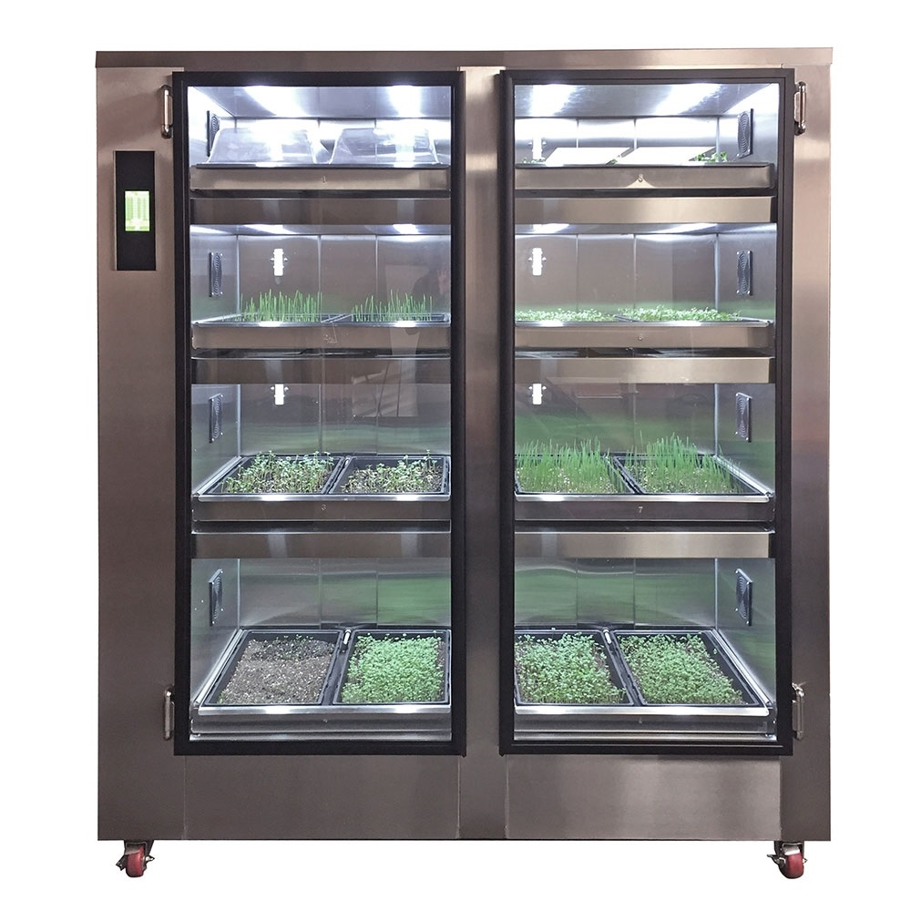 You Can Grow Your Own Groceries At Home From Old Kitchen: Carter-Hoffmann Garden Chef, 16 Flat Capacity