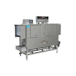 "Dishwasher, 66"" Conveyor Type High Temp. Left-To-Right - 208-240V, EST-66H-LR by CMA."