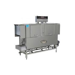 "Dishwasher, 66"" Conveyor Type Low Temp. Left-To-Right - 208-240V, EST-66L-LR by CMA."