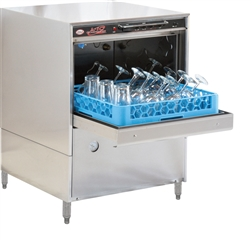 Glasswasher, Compact Undercounter Low Temp. - 115V, L-1C by CMA.