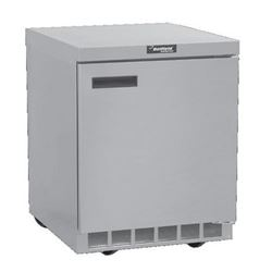 "Freezer, Undercounter 32"" Solid Door - 1 Section, GUF32P-S by Delfield."