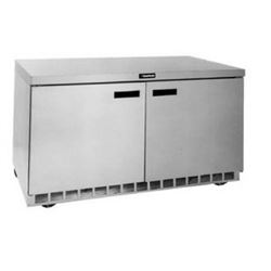 "Freezer, Undercounter 60"" Solid Door - 2 Section, GUF60P-S by Delfield."