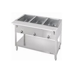 Steamtable, 3 Pan Electric - 120V, E303 by Duke Manufacturing.