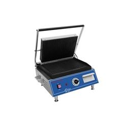 Panini Grill, Medium Double Grooved Top And Bottom - 120V, GPG1410 by Globe .