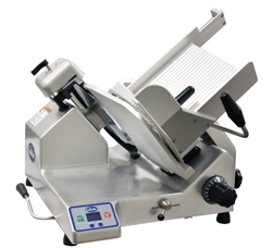 "Meat Slicer, 13"" Premium 2 Speed Automatic Operation - S13A by Globe ."