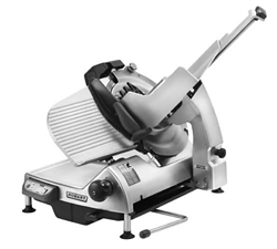 "Meat Slicer, 13"" Semi-Automatic, HS7N-1 by Hobart."
