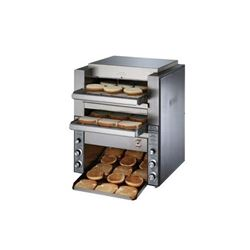 Toaster, High Volume Double Conveyor Type, 1,000 Slices And Bun Halves Per Hour - 208/240V, DT14 by