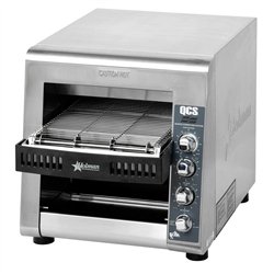 Toaster, Conveyor Type, 1,000 Slices Per Hour - 208/240V, QCS3-1000A by Star Manufacturing.