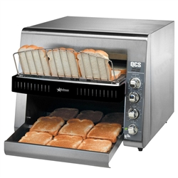 Toaster, Conveyor Type, 1,300 Slices Per Hour - 208/240V, QCS3-1300 by Star Manufacturing.
