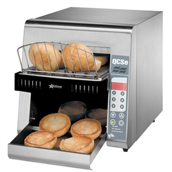 Toaster, Conveyor Type, Electronic Control 600 Slices Per Hour - 208/240V, QCSE2-600H by Star Manufacturi