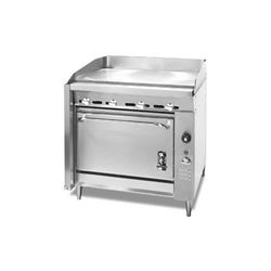 "Range, 36"", HEAVY DUTY  36"" Griddle, 1 Standard Oven - L.P. Gas, 136-8-LPG by Montague."