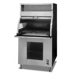 "Charbroiler, Charcoal Type 36"" Floor Model HEAVY DUTY , 37F by Montague."