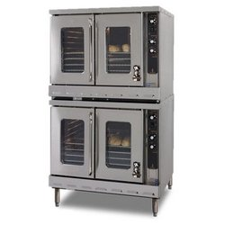 "ChefsFirst offers equipment & supplies for restaurants, commercial kitchens & manufacturing facilities. Check out our low price for this Oven, Convection - Double Stack Bakery Depth With ""Cook-n-Hold"" And Electronic Ignition - Nat. Gas, HX2-63AH-NAT"