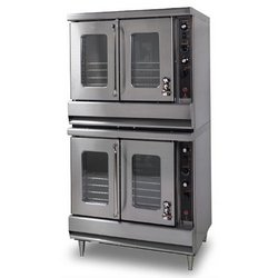 Oven, Convection - Double Stack Full Size Standard Depth - Nat. Gas, R2-85A-NAT by Montague.