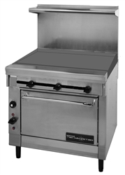 "Range, 36"" Restaurant Series 36"" Griddle 1 Oven NAT - T26-3FT-NAT by Montague."